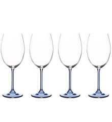 Bitz -  Wine Glasse 45 cl 4 pcs - Blue (911947)