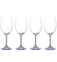 Bitz -  Wine Glasse 45 cl 4 pcs - Blue (911947)