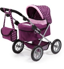 Bayer - Dolls Pram Trendy - Purple (13037AA)