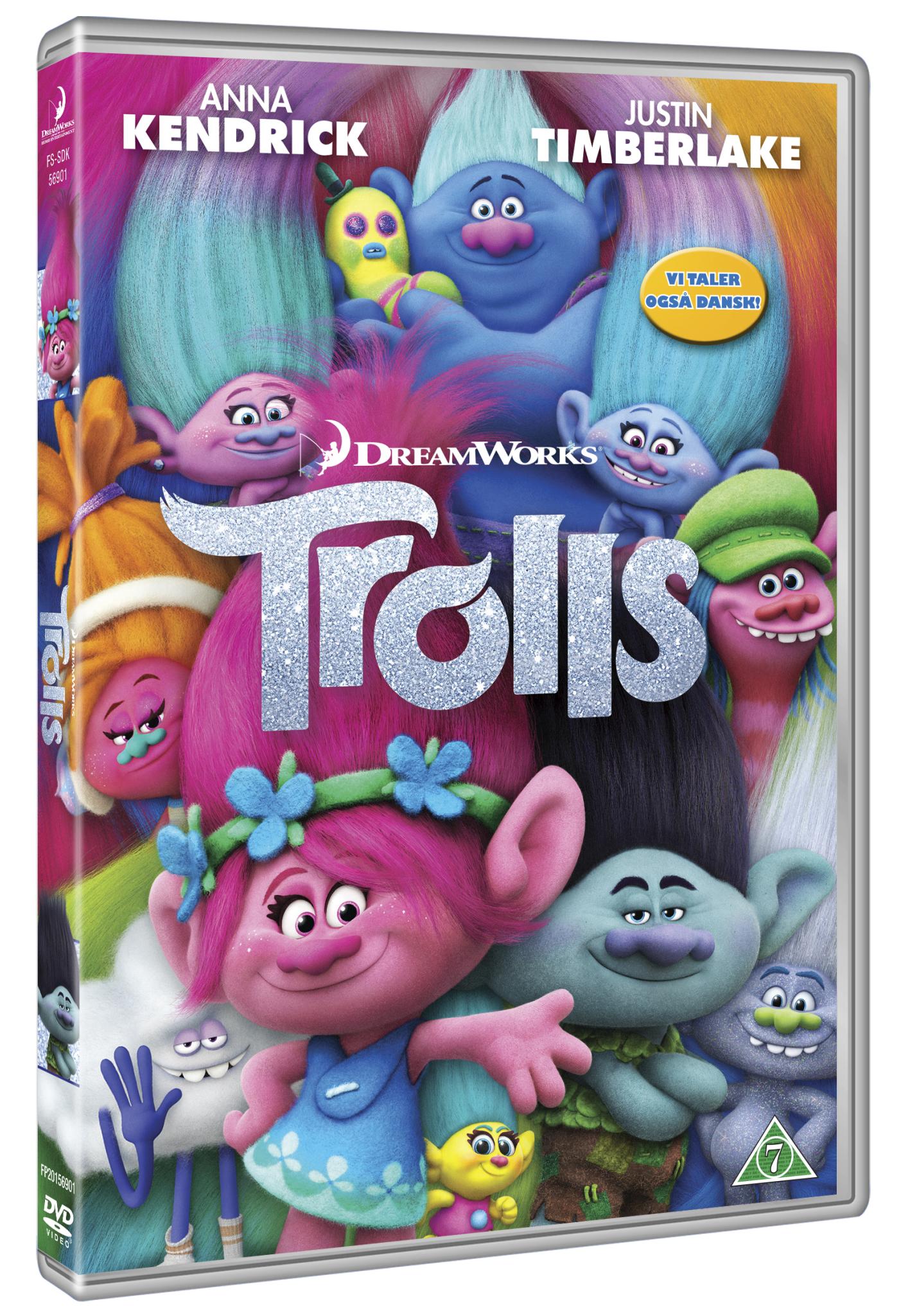 Buy Trolls Dvd Standard Dvd Incl Shipping