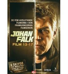 Johan Falk: Box 3 - Film 13-17 (6-disc) - DVD