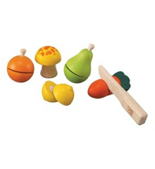 PlanToys - Playfood - Fruit and Vegetable Play Set (5337)