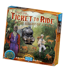 Ticket to Ride - The Heart of Africa