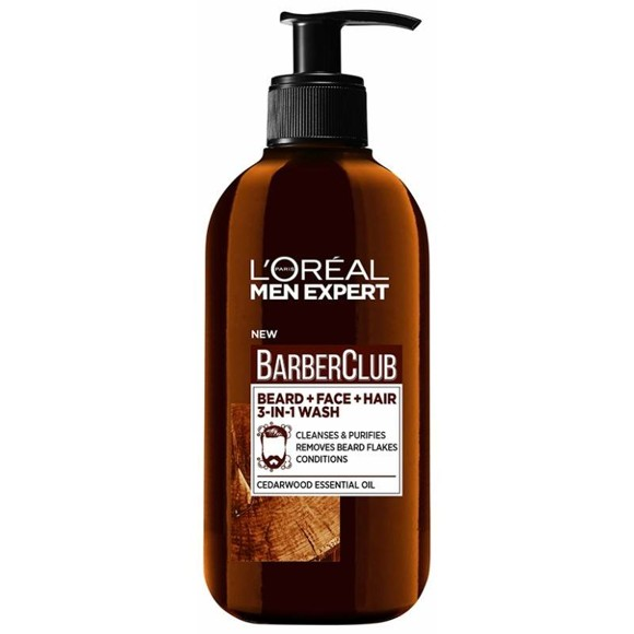L'Oréal - Men Expert Barber Club Beard and Face Wash 200 ml