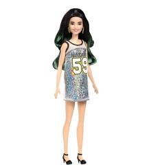 Barbie - Fashionistas - Los Angeles Dress - Black/Green Hair (FXL50)
