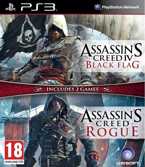 Assassin's Creed IV (4) Black Flag + Assassin's Creed Rogue (Nordic)