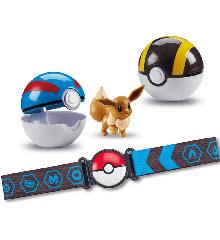 Pokemon - Clip 'N Go Poke Ball Belt - Eevee (50-00254 B)