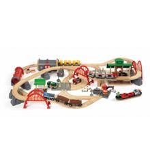 BRIO - Rail & Road deluxe-ratasetti (33052)