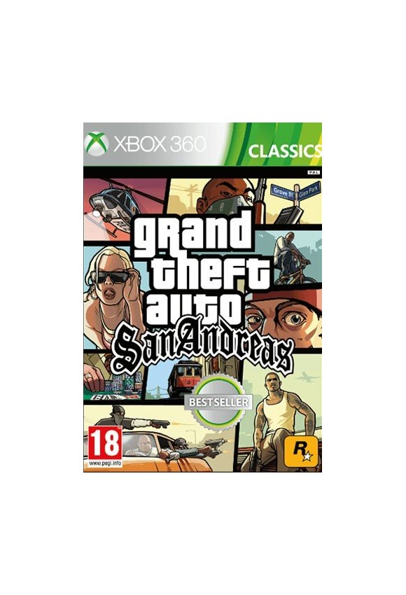 Grand Theft Auto San Andreas (GTA) (Classics)
