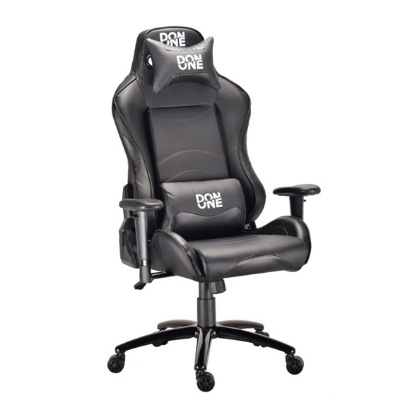 DON ONE - Corleone Gaming Chair Black/Carbon