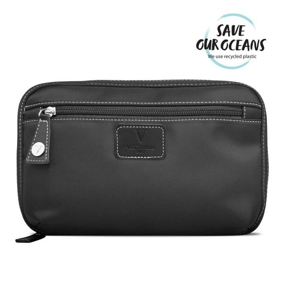 Vittorio - Men's Nylon Toiletry Bag