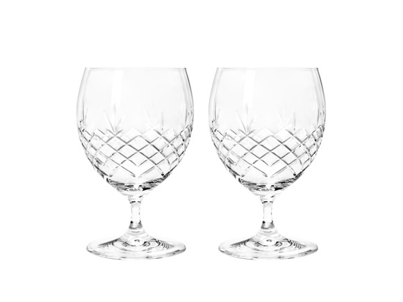 Frederik Bagger - Crispy Eightball Crystal Glass - 2 pack (10313)