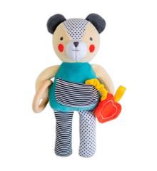 Petit Collage - Organic Baby developmental Soft toy-Bear