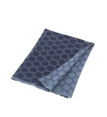 Smallstuff - Baby Blanket Knitted Star - Dusty Navy