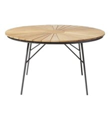 Cinas - Hard & Ellen Garden Table Ø 130 cm - Aluminium/Antracit (2521136)