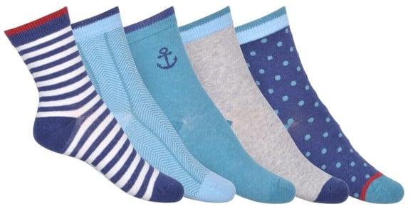 Melton - Numbers 5-pack Socks