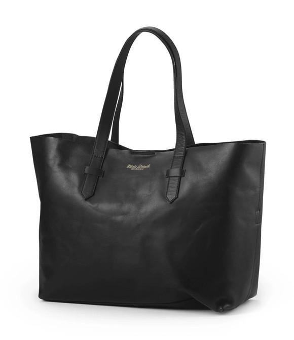 Elodie Details - Leather Nursery Bag - Black