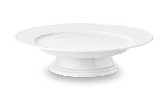 Pillivuyt - Plissé Cake Plate - White (994231)