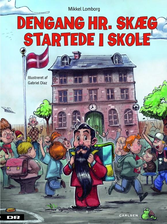 Børnebog - Dengang Hr. Skæg startede i skole