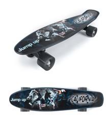 California - Hipp Skateboard med Print (24301)