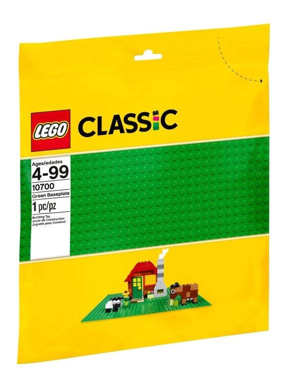 LEGO Classic - Green Baseplate (10700)