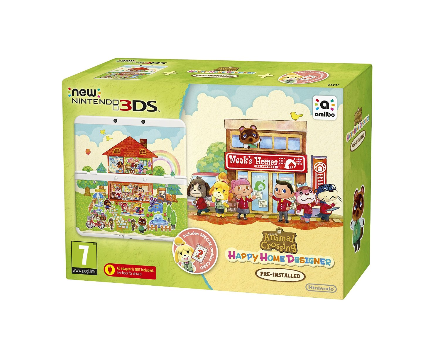 Kaufe New Nintendo 20DS Console   Animal Crossing Happy Home ...