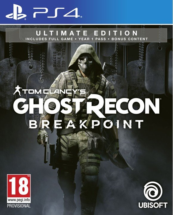 Tom Clancy's Ghost Recon: Breakpoint (Ultimate Edition) + Nomad Figurine (Bundle)