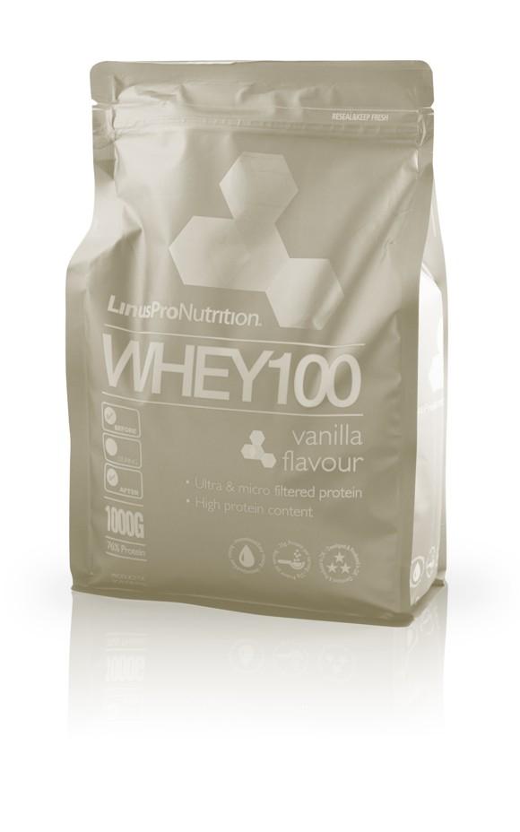 LinusPro WHEY100 Protein - Vanilla - 1kg