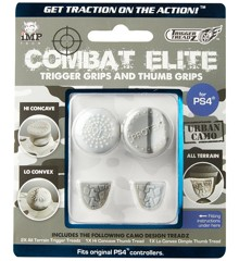 Trigger Treadz: Combat Elite Thumb & Trigger Grips Pack - Urban Camo (PS4)