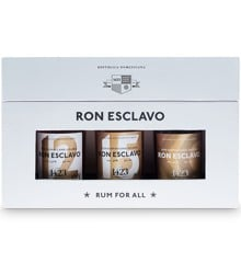 Ron Esclavo - Dominicana Giftbox 12+15+XO, 3x5 cl