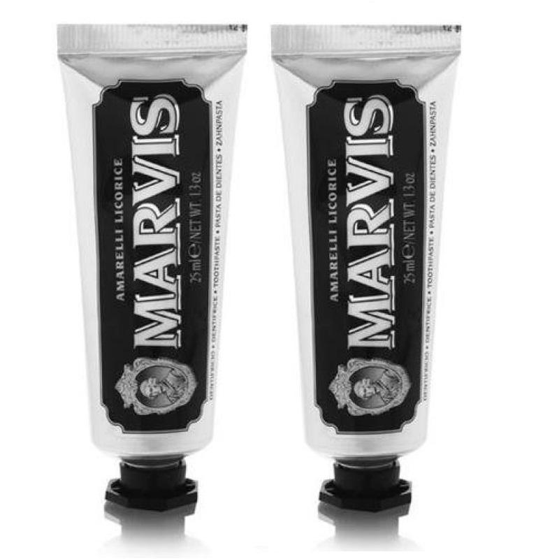 MARVIS - Toothpaste Licorice Mint 2x25 ml