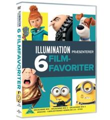 Illumination 6-Movie Collection - DVD