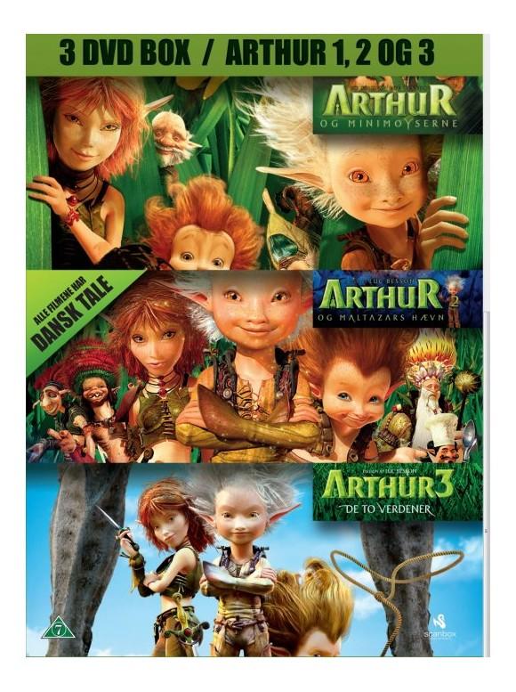 Arthur 1+2+3 Box -DVD
