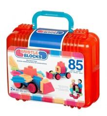 Bristle Blocks  - Kuffert med 85 samleklodser (703101)
