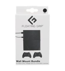 FLOATING GRIP® beslag til Xbox One konsol og controllers, Sort