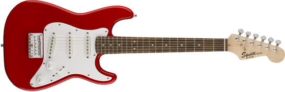 Squier By Fender - Mini Stratocaster V2 - Electric 3/4 Guitar (Torino Red)