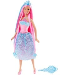 Barbie - Dreamtopia - 4 Kingdoms Hair Spell Princess - Pink Haired (DKB61)