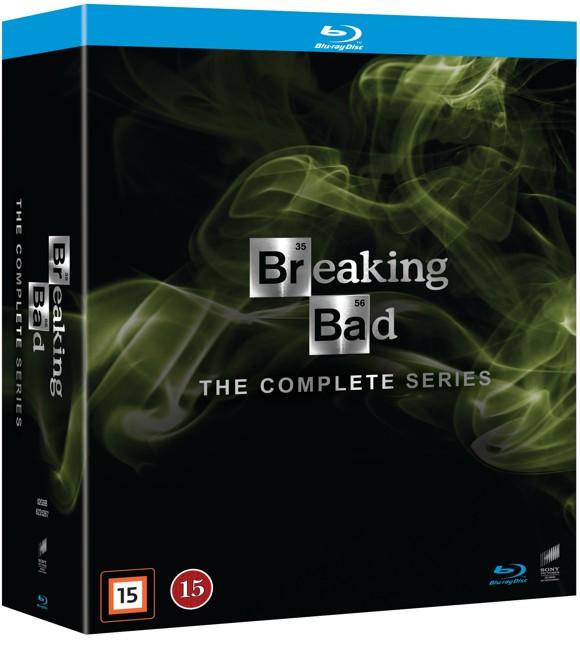 Breaking Bad: Complete Box - Season 1-5 (15 disc)(Blu-Ray)