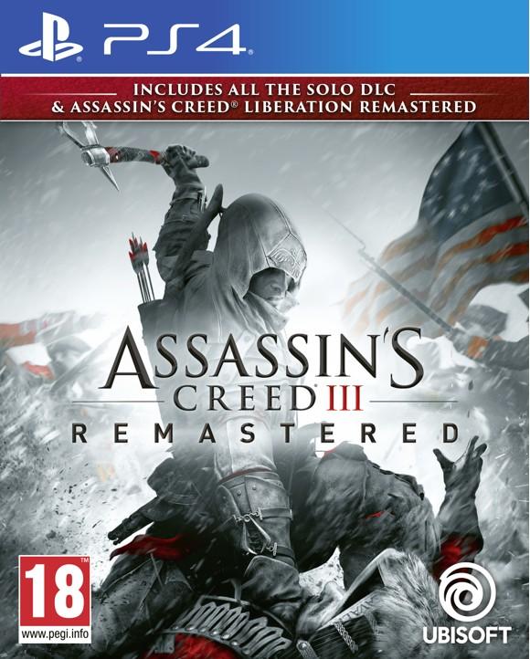 Assassin's Creed III (3) + Liberation HD Remaster