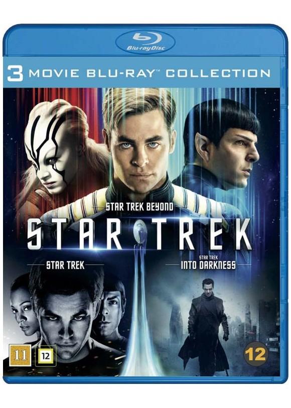 Star Trek: 3-Movie Collection (3-disc) (Blu-Ray)