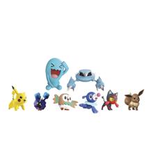 Pokemon - 8-pakke med Figurer (5 cm og 8 cm)