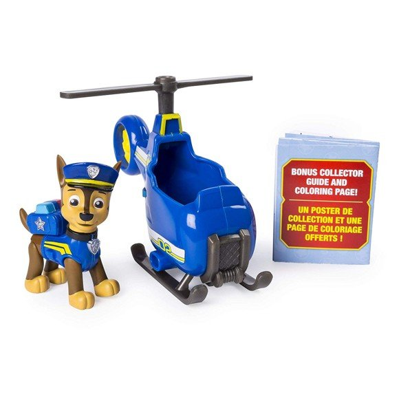 Paw Patrol - Ultimate Rescue Mini - Chase Mini Helikopter (20101478)