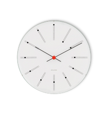 Arne Jacobsen - Bankers Wall Clock Ø 48 cm - White (43650)