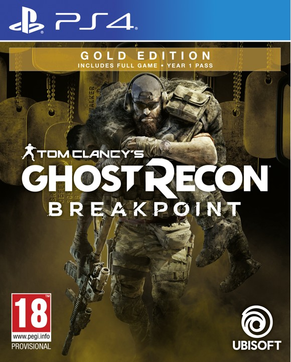 Tom Clancy's Ghost Recon: Breakpoint (Gold Edition) + Nomad Figurine