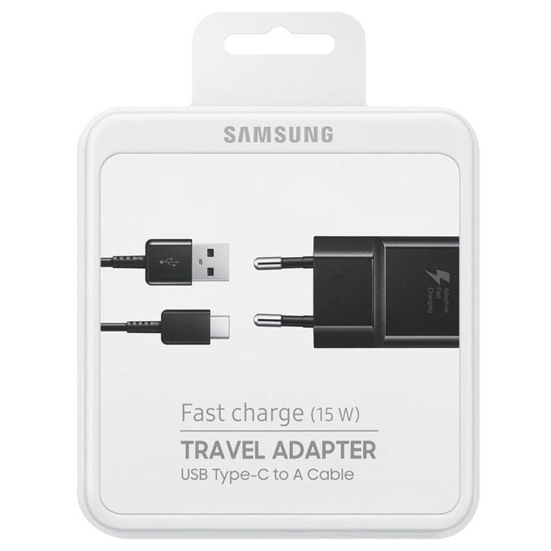 Köp Samsung EP TA20EB USB C Fast Travel Charger Black