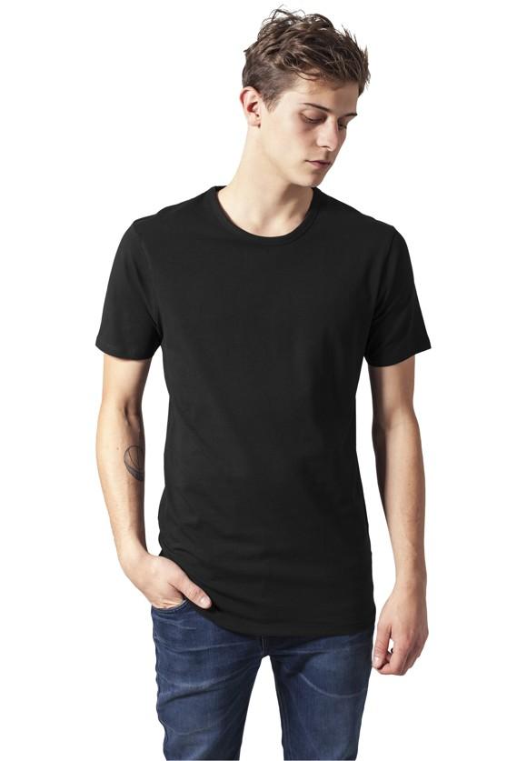 Urban Classics 'Fitted Stretch' T-shirt - Black