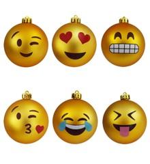 Emoji Christmas Ornaments (04380)