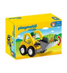 Playmobil 1.2.3 - Wheel Loader (6775)