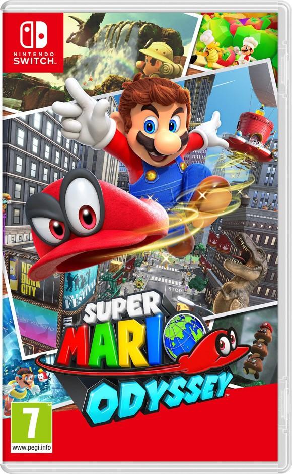 Super Mario Odyssey (UK, SE, DK, FI)