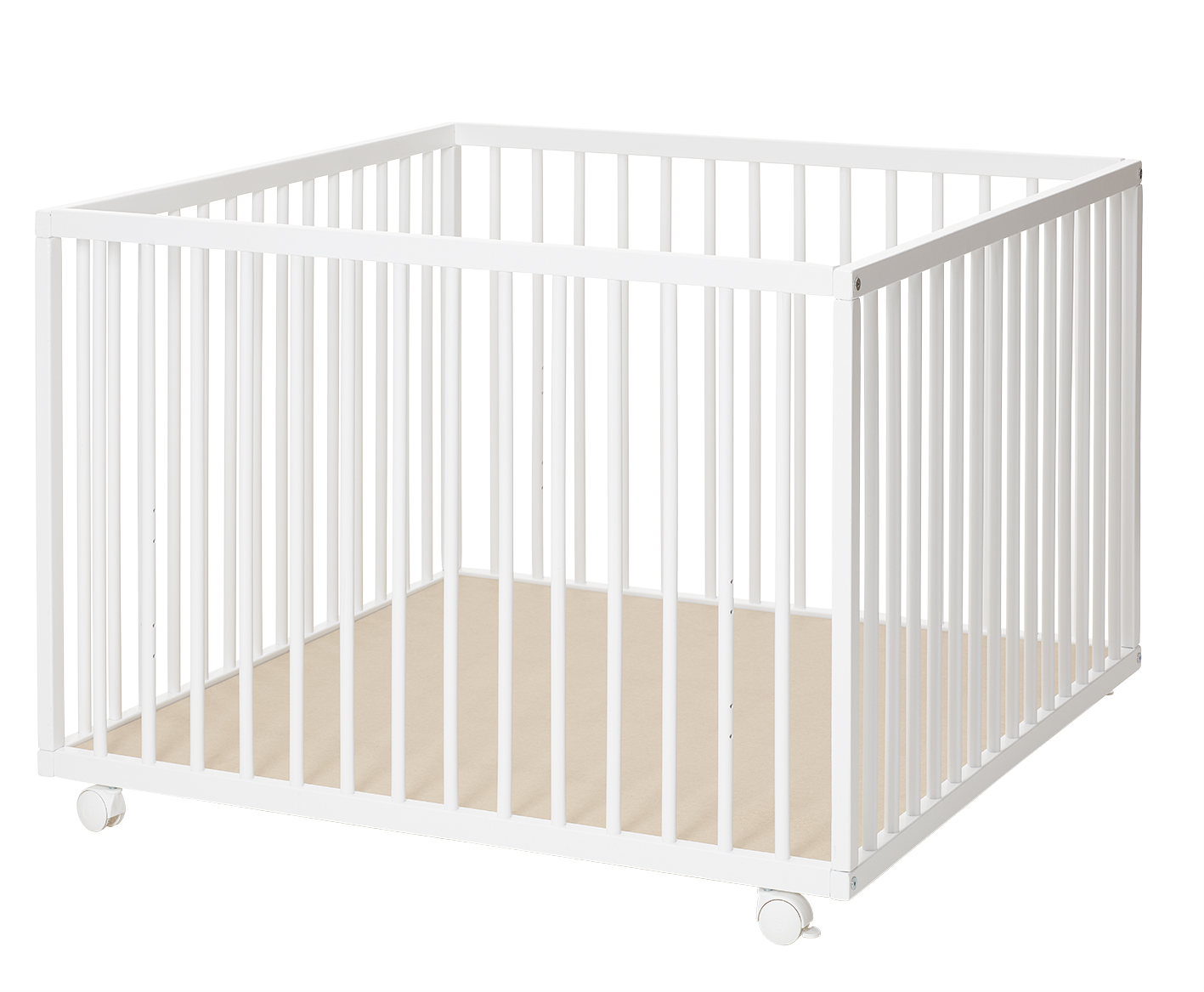 Bilde av Baby Dan - Comfort Playpen 99x99x73 Cm - White